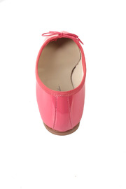 Anniel Bright Pink Ballerinas - Back cropped