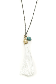 FADA Fada Tassel Necklace - Back cropped