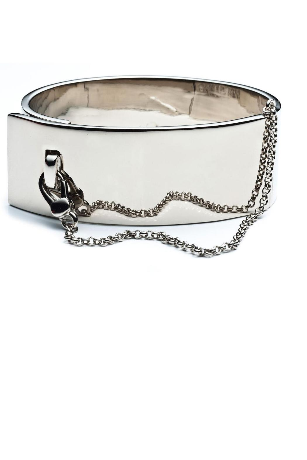 Eddie Borgo  Safety Chain Cuff - Front Cropped Image