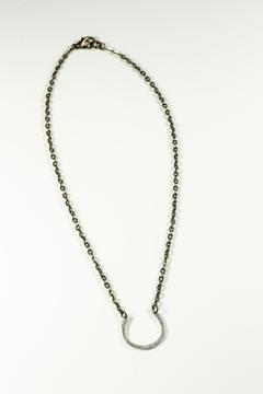 Michelle Rhodes Necklace Horseshoe Silver - Product List Image