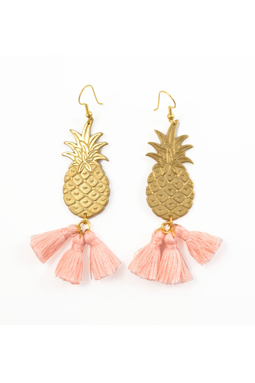 POUPÉE ROUSSE Pineapple Earrings - Front Cropped Image
