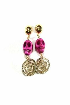 Shoptiques Product: Calaca Pink Earrings!