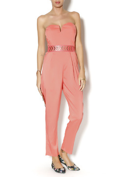 Byrds Peach Jumpsuit - Product List Image