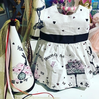 Unknown Factory Alice Party Dress & Hat - Instagram Image