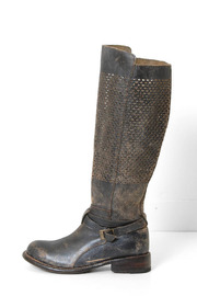 Bedstü Black Perforated Boot - Product Mini Image