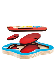 Hape  3D Airplane Puzzle - Side cropped