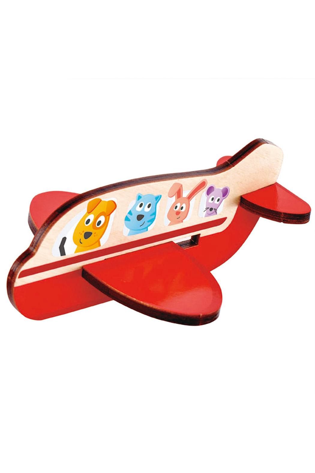 Hape  3D Airplane Puzzle - Front Full Image