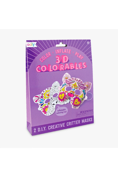 Ooly 3D Colorables: Creative Critter Masks - Product List Image