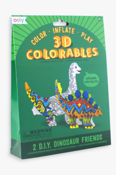 Ooly 3D Colorables Dinosaur Friends - Product List Image