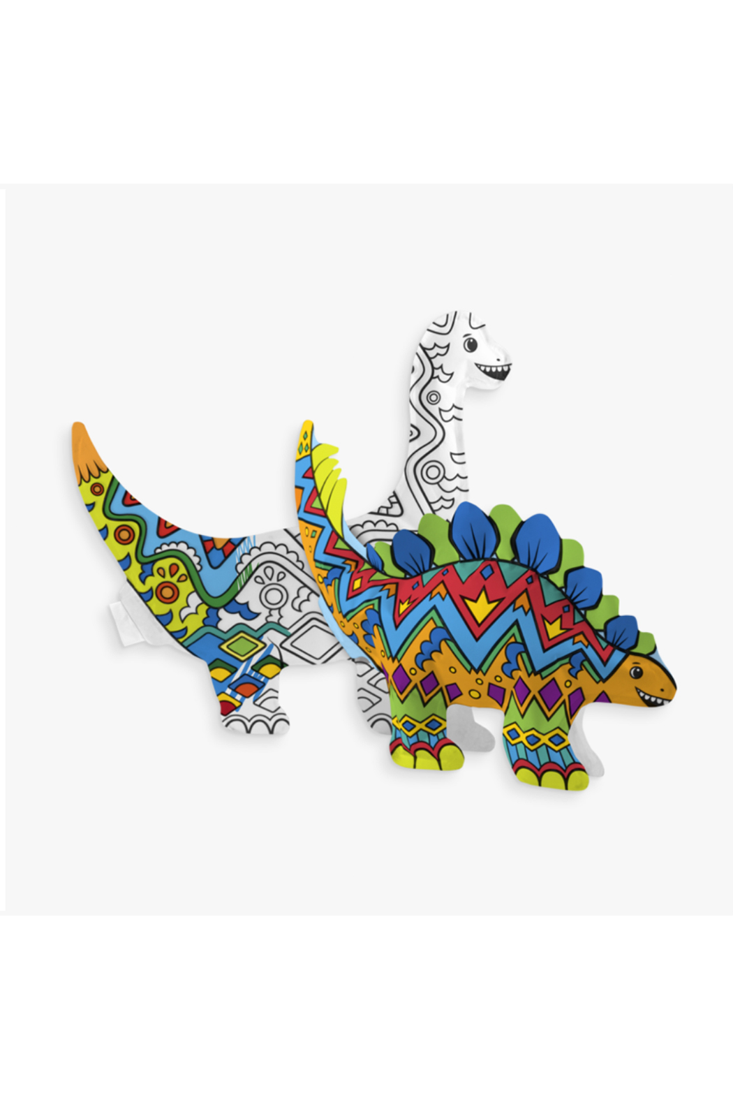 Ooly 3D Colorables Dinosaur Friends - Front Full Image