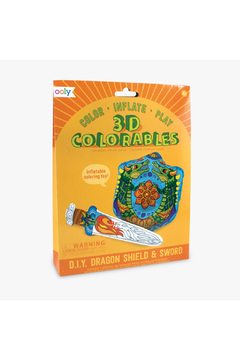 Ooly 3D Colorables Dragon Shield & Sword - Product List Image