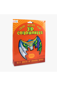 Ooly 3D Colorables Dragon Wings - Product List Image