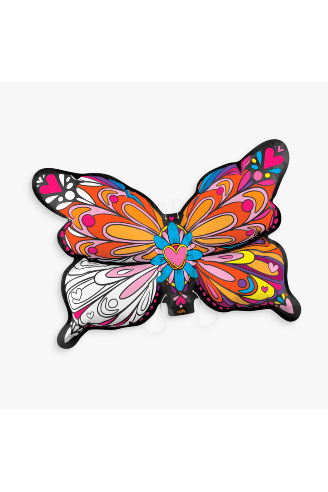 Ooly 3D Colorables Dress Up Butterfly Wings - Front Full Image