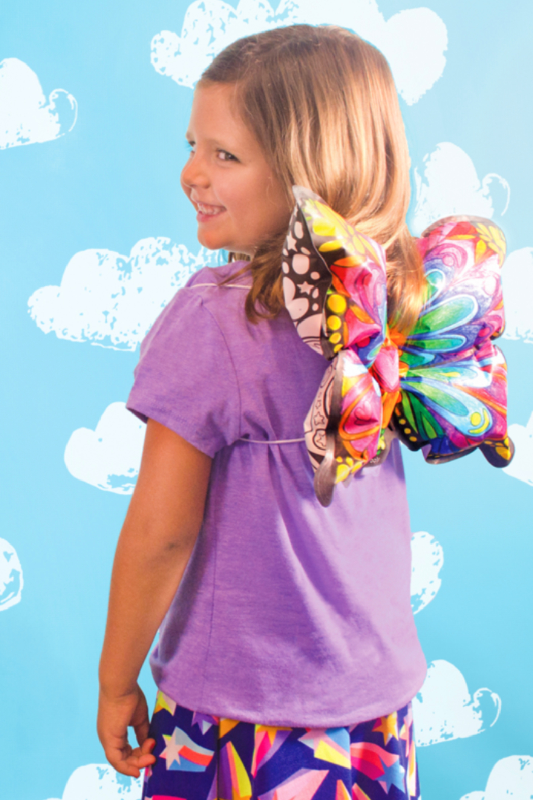 Ooly 3D Colorables Dress Up Butterfly Wings - Side Cropped Image