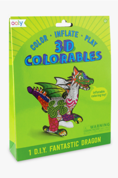 Ooly 3D Colorables Fantastic Dragon - Product List Image