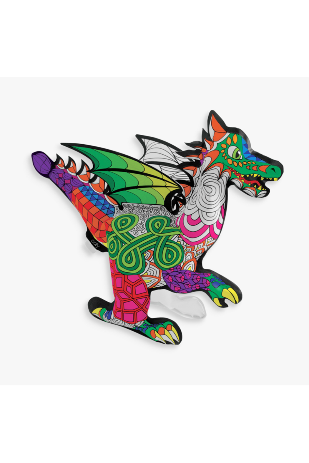 Ooly 3D Colorables Fantastic Dragon - Front Full Image