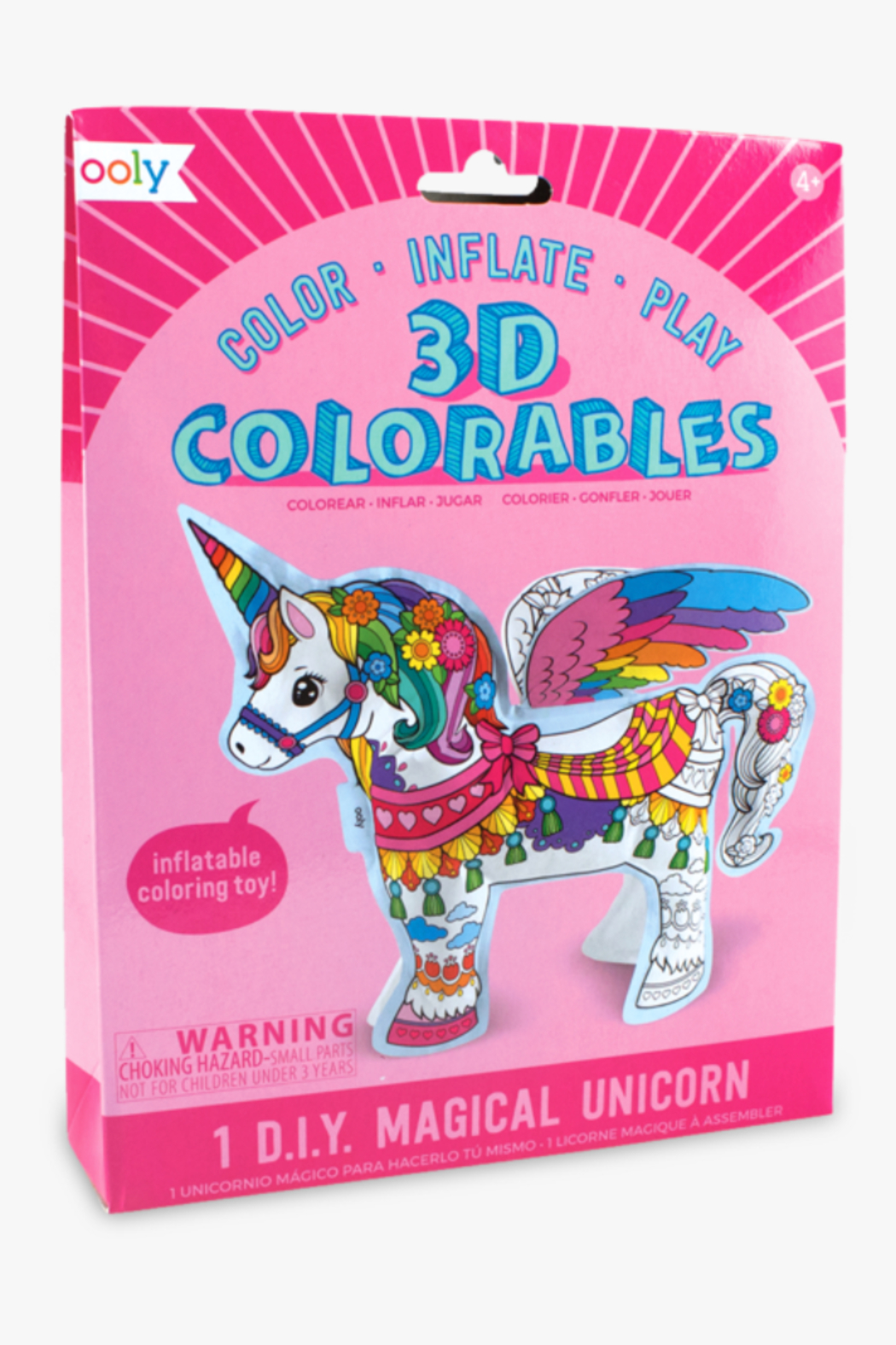 Ooly 3D Colorables Magical Unicorn - Main Image