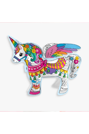 Ooly 3D Colorables Magical Unicorn - Front full body