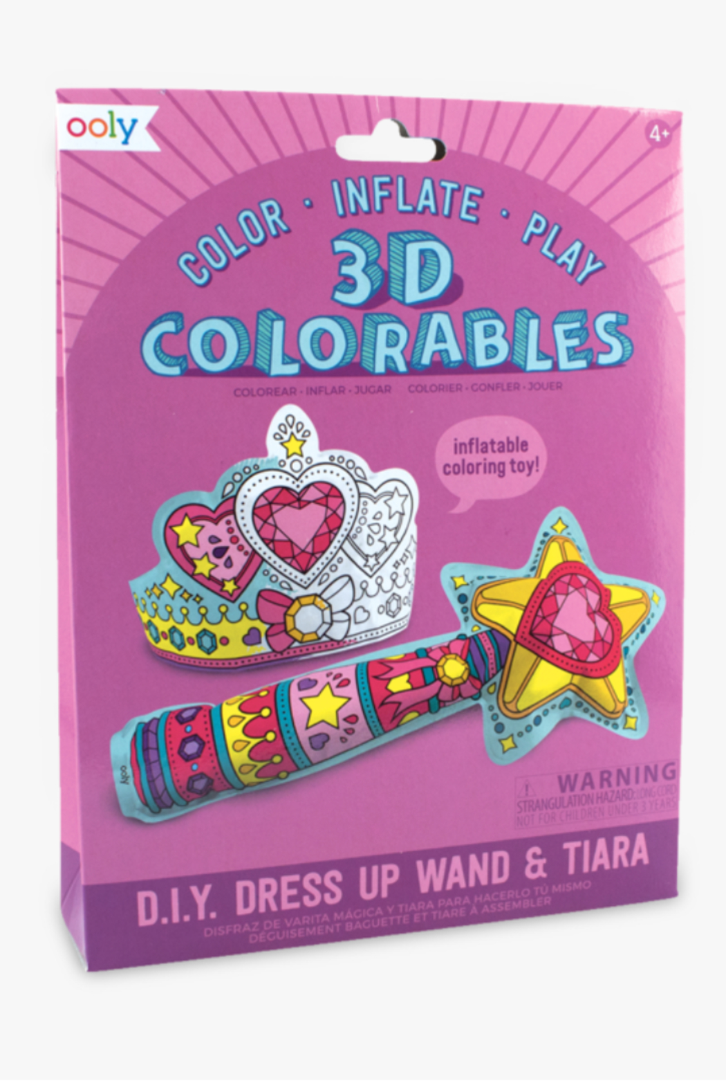 Ooly 3D Colorables Wand and Tiara - Main Image