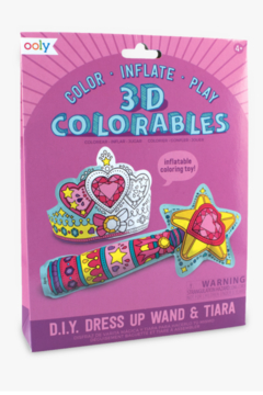 Ooly 3D Colorables Wand and Tiara - Product List Image