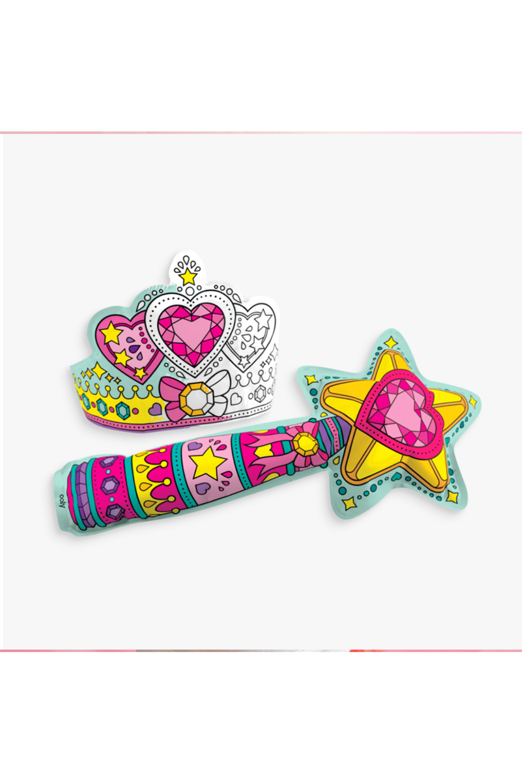 Ooly 3D Colorables Wand and Tiara - Side Cropped Image