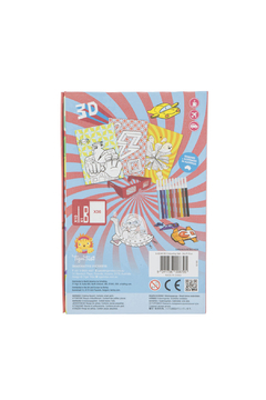 Schylling 3D Colouring Set Sci-Fi Fun - Product List Image