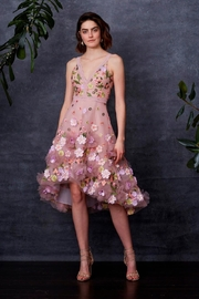 Marchesa 3d Floral Dress - Product Mini Image