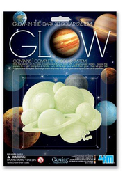Toysmith 3D Glow-In-The-Dark Solar System - Product Mini Image