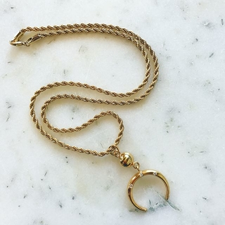 Gold Moon Necklace - Instagram Image