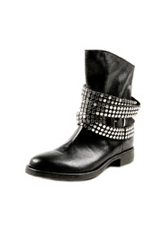 Shoptiques Product: Stud Strap Leather Booties