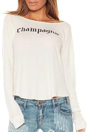 Wildfox Champagne Thermal - Front full body