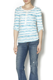 Renuar Paint Henley Shirt - Product Mini Image