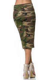 Camo Skirt - Back cropped