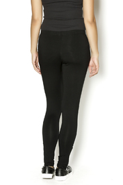 Shoptiques Product: Long Zipper Leggings - Back cropped