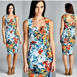 Shoptiques Floral Print Dress