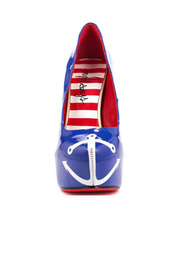 TaylorSays Anchors Away - Blue - Front full body