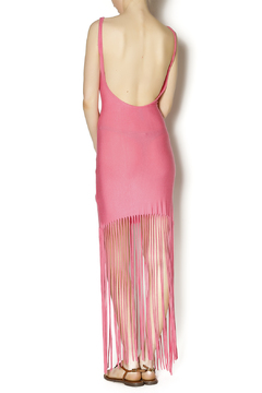 Belle Femme Fashions Fringe Bottom Maxi - Alternate List Image