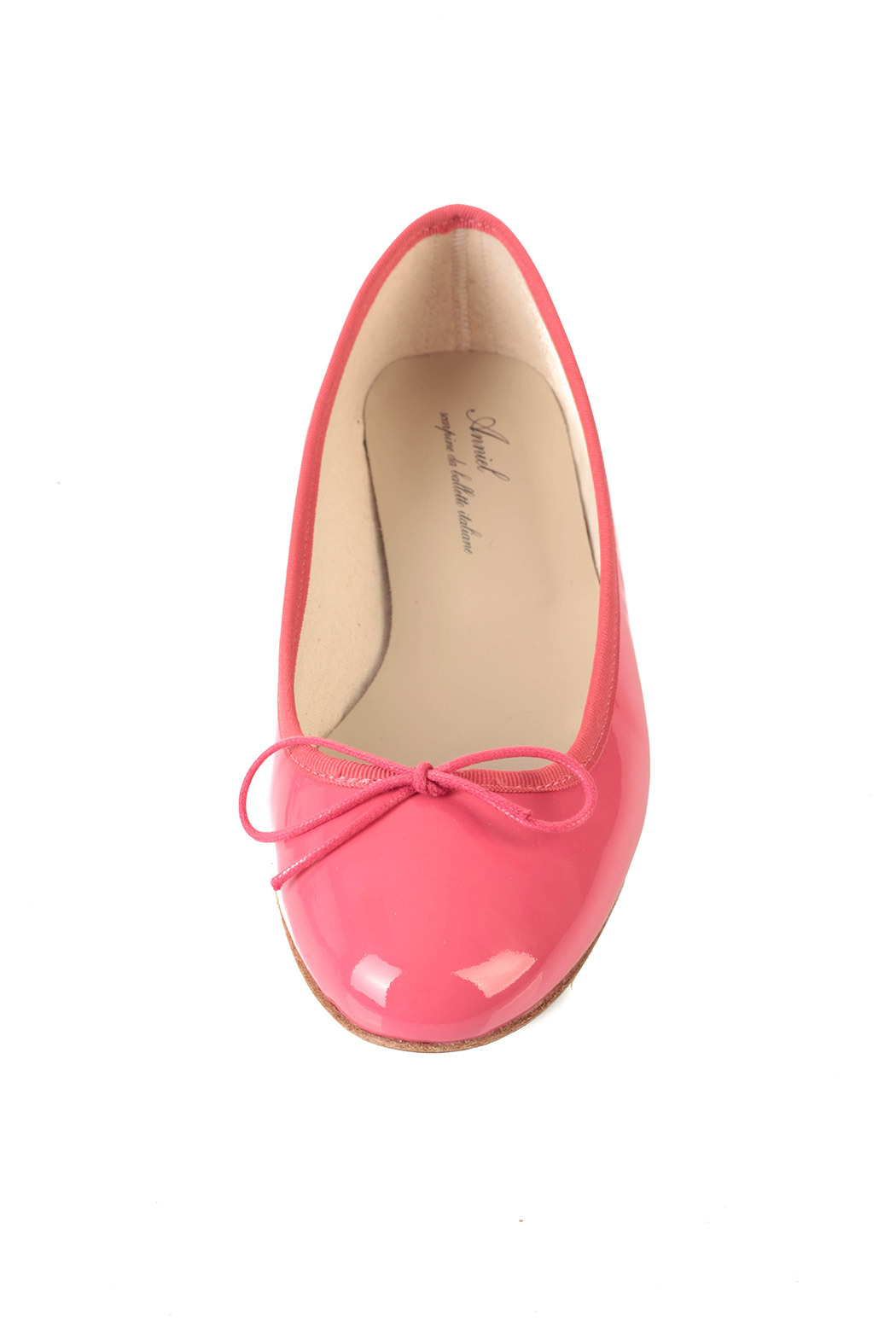Anniel Bright Pink Ballerinas - Front Full Image