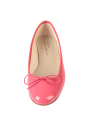 Shoptiques Product: Bright Pink Ballerinas - Front full body