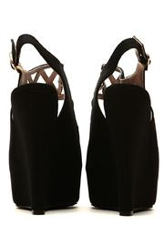 Qupid Cut Out Wedges - Side cropped