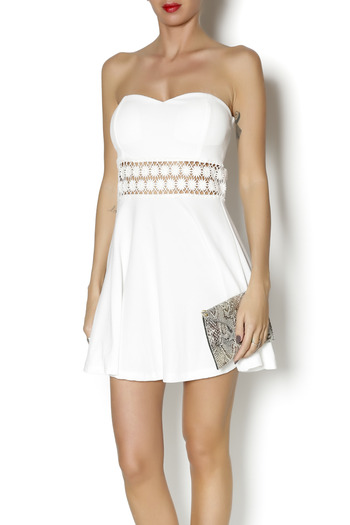 Shoptiques Product: Strapless Emily Dress - main