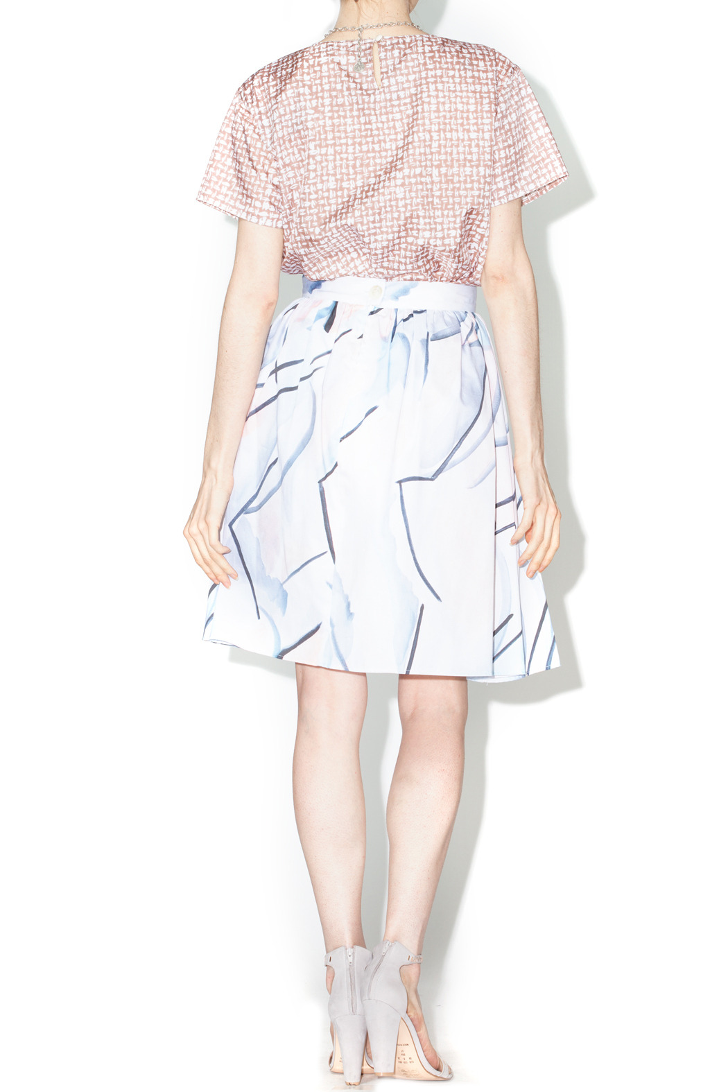 Library Waties Skirt - Side Cropped Image