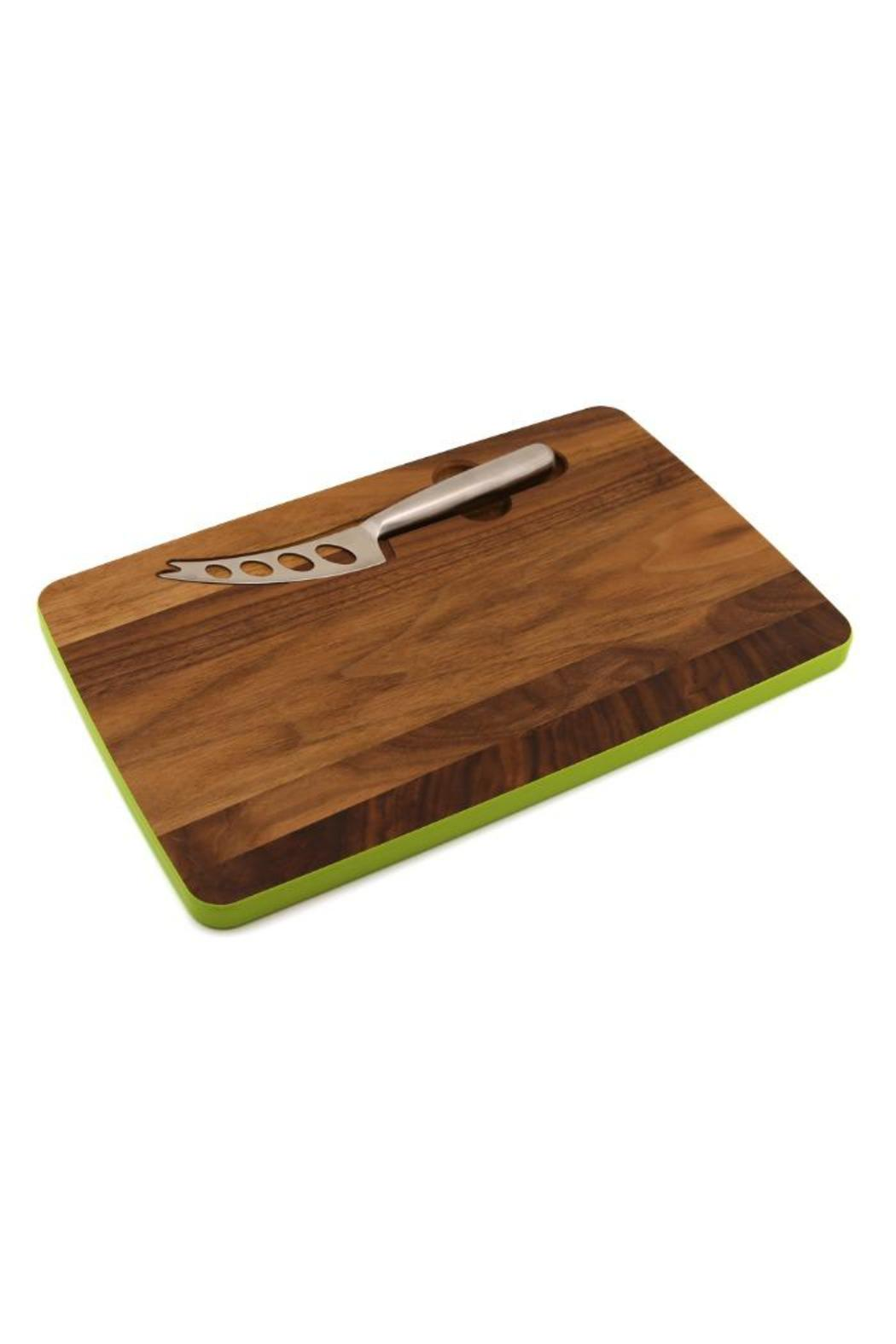 Walnut Cheese Board - Front Cropped Image