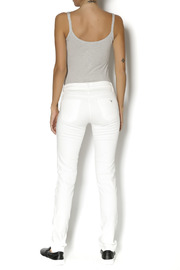 Beija Flor White  Denim - Side cropped