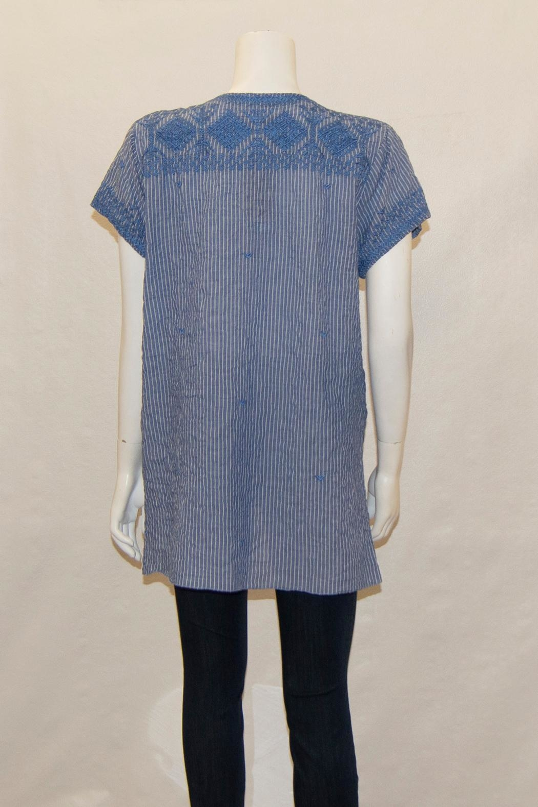 3J Workshop by Johnny Was Azure Drape Top - Front Full Image