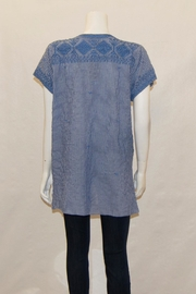3J Workshop by Johnny Was Azure Drape Top - Front full body