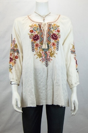 3J Workshop by Johnny Was Clansy Peasant Blouse - Product Mini Image