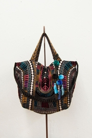 3J Workshop by Johnny Was Gaia Velveteen Tote - Product Mini Image