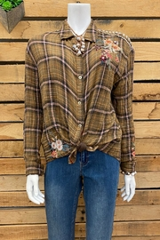 3J Workshop by Johnny Was Marlie Boxy Shirt - Front cropped