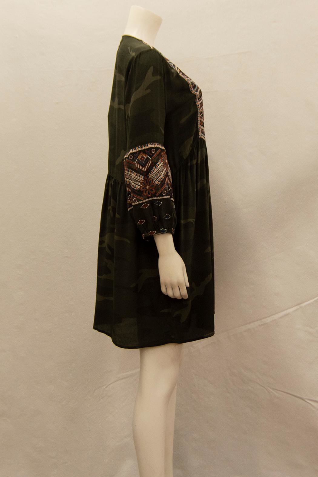 3J Workshop by Johnny Was Mary Jo Dress - Front Full Image